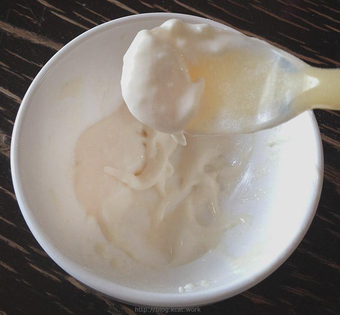 チューブダイエットカケシアを水で溶く