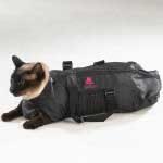猫の保定袋