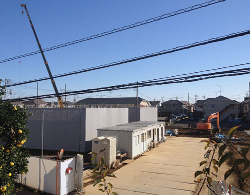 2015/12/1工事中風景