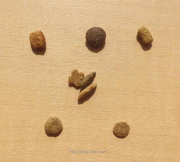 jpスタイル キドニーキープ リッチテイストの粒を大きさ比較