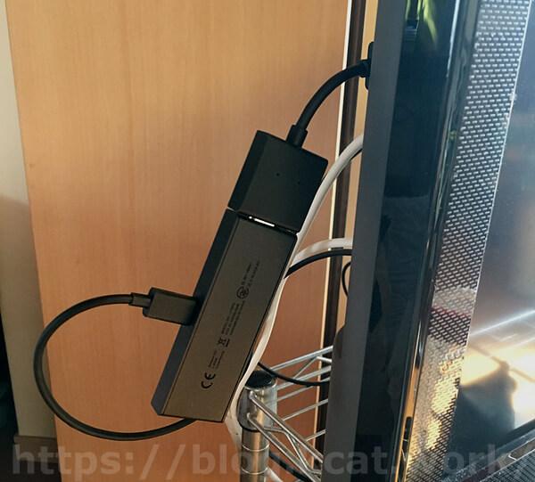 ファイヤーTVスティックを接続
